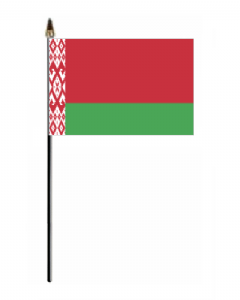 Belarus Country Hand Flag - Small.